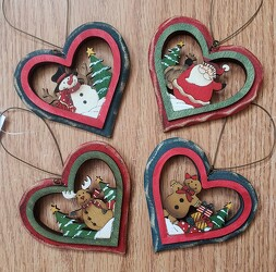 HOLIDAY ORNAMENTS from Beck's Flower Shop & Gardens, in Jackson, Michigan