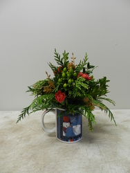 Christmas Mug from Beck's Flower Shop & Gardens, in Jackson, Michigan