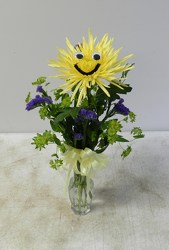 Smile! from Beck's Flower Shop & Gardens, in Jackson, Michigan