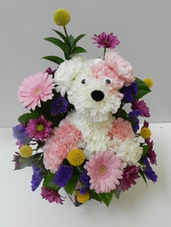 Large Puppy from Beck's Flower Shop & Gardens, in Jackson, Michigan