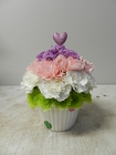 Cupcake from Beck's Flower Shop & Gardens, in Jackson, Michigan