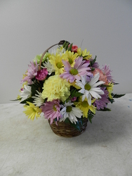 Designer's Choice Basket Arr. from Beck's Flower Shop & Gardens, in Jackson, Michigan