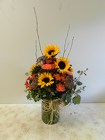 Fall Deluxe from Beck's Flower Shop & Gardens, in Jackson, Michigan