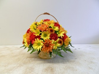 Fall Basket from Beck's Flower Shop & Gardens, in Jackson, Michigan