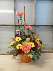 Fall Fairy Arrangement from Beck's Flower Shop & Gardens, in Jackson, Michigan
