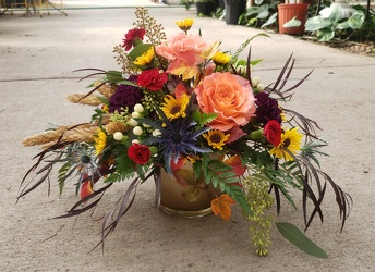 AUTUMN HARVEST from Beck's Flower Shop & Gardens, in Jackson, Michigan