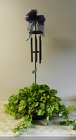Windchime with Plant from Beck's Flower Shop & Gardens, in Jackson, Michigan