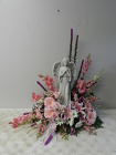 Large Angel Arrangement from Beck's Flower Shop & Gardens, in Jackson, Michigan