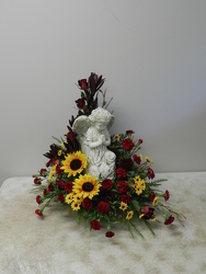 Angel Arrangement from Beck's Flower Shop & Gardens, in Jackson, Michigan