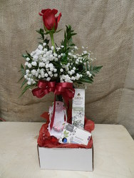 Pamper your Sweetheart from Beck's Flower Shop & Gardens, in Jackson, Michigan