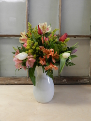 Spring Romance from Beck's Flower Shop & Gardens, in Jackson, Michigan