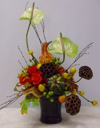 Fall Style from Beck's Flower Shop & Gardens, in Jackson, Michigan
