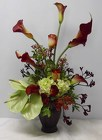 Fall Elegance from Beck's Flower Shop & Gardens, in Jackson, Michigan