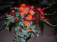 Fall Tributes from Beck's Flower Shop & Gardens, in Jackson, Michigan