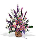 Lavender Reminder Basket from Beck's Flower Shop & Gardens, in Jackson, Michigan